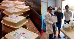 Empresas siguen mandando apoyo al hospital inflable de Pachuca
