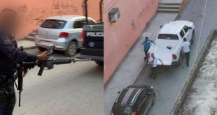 Guaruras de morenista fueron confundidos con delincuentes, en Huejutla