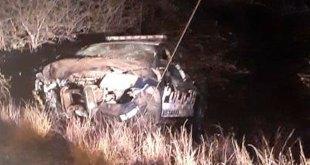 Policías estatales de Hidalgo lesionados tras volcadura en Ixmiquilpan