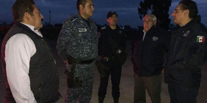 Ponen a disposición a policías municipales de Tulancingo por herir de bala a civil