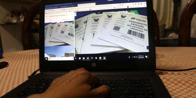 Publica el POEH la suspensión de trámites oficiales en Hidalgo