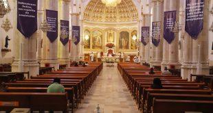 Ante coronavirus, La Villita, en Pachuca, celebra misa en línea