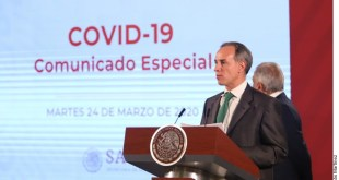 México, oficialmente en fase 2 para contener el coronavirus Covid-19