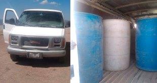 Detienen con 400 litros de huachicol a un hombre en Tulancingo