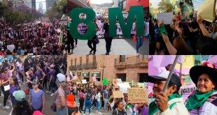 Suman mujeres protestas en Pachuca, Michoacán, Puebla y más estados