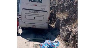 Chofer de autobús muere tras accidente en la Zimpán-Ixmiquilpan