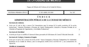Apoyarán a trabajadores no asalariados en Ciudad de México