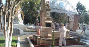 Por contingencia, suspenden visitas al panteón municipal de Pachuca