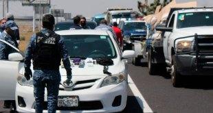 Detienen a sujetos armados, en retén de la México-Pachuca