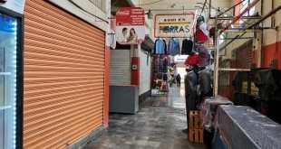 Cierran 30% de comercios en el mercado de Tula