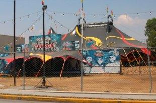 Circo instalado en La Providencia tuvo que cerrar por el Covid; piden apoyo