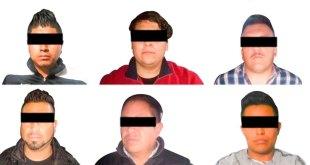 Detienen a banda de asaltantes de transporte público en Hidalgo