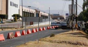 Cambios viales por inicio de construcción del distribuidor vial en Galerías Pachuca