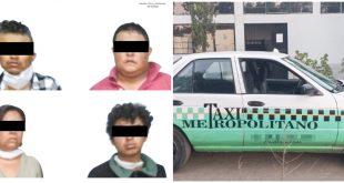 En Huichapan, detienen a 4 personas armadas por robo a domicilio