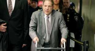 Retrasaron extradición de Harvey Weinstein a Los Ángeles
