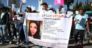 En tres meses van 68 fichas de búsqueda en Hidalgo