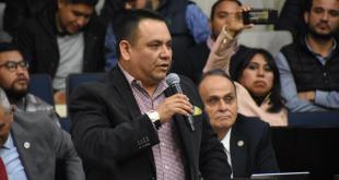 Un militar acusa por despojo al diputado Víctor Osmind Trejo