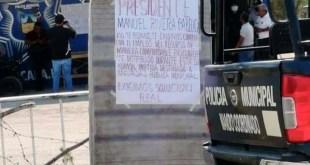 Policías de Jacala exigen aumento salarial y equipamiento