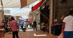 Pese a Covid-19, sigue el mercado de mayoreo de Tlahuelilpan