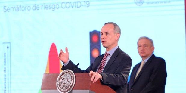 En semáforo naranja, gimnasios podrán funcionar al 50%: López-Gatell