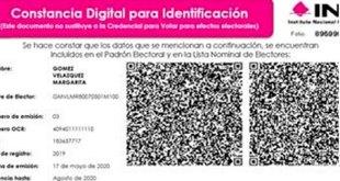 Inicia el INE expedición de 'credenciales' digitales