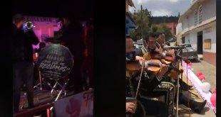 Dan serenata a mamás por calles de municipios de Hidalgo