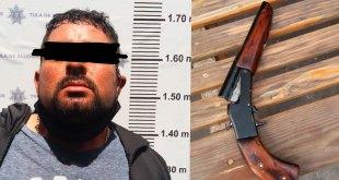 Detienen a un hombre armado en Tula; trató de escapar