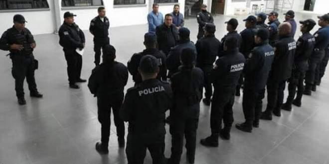 Diagnostican Covid-19 cinco policías Tolcayuca