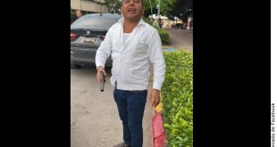Balea escolta a presunto ex yerno del gobernador de Chiapas