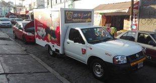 Con tijeras, asaltan a empleado de Barcel en Pachuca