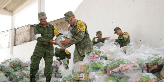 Sedena advierte sobre fraude con supuestas despensas en Hidalgo