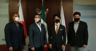 Omar Fayad Meneses, titular del Poder Ejecutivo estatal, se reunió con el doctor Tetsuya Fujimori y representantes de la Asociación Internacional de Terapia Celular para el Nuevo Coronavirus (IACT4C), con la finalidad de impulsar un protocolo de tratamiento para combatir la pandemia del Covid-19