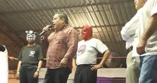 Ve Intruso Jr. complicada la reanudación de la lucha libre