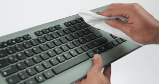 Aprende cómo desinfectar el teclado de la computadora