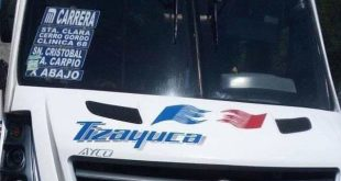 Roban autobús de la línea Tizayuca, en los límites con Edomex