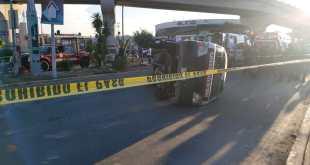 unidades transporte público Pachuca lesionados