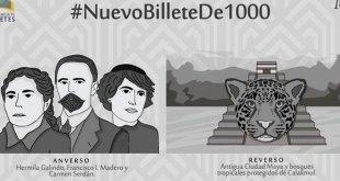 elementos nuevo billete mil pesos
