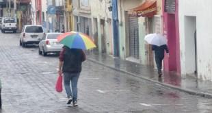 Continuarán lluvias fuertes este miércoles en Hidalgo por tormenta tropical