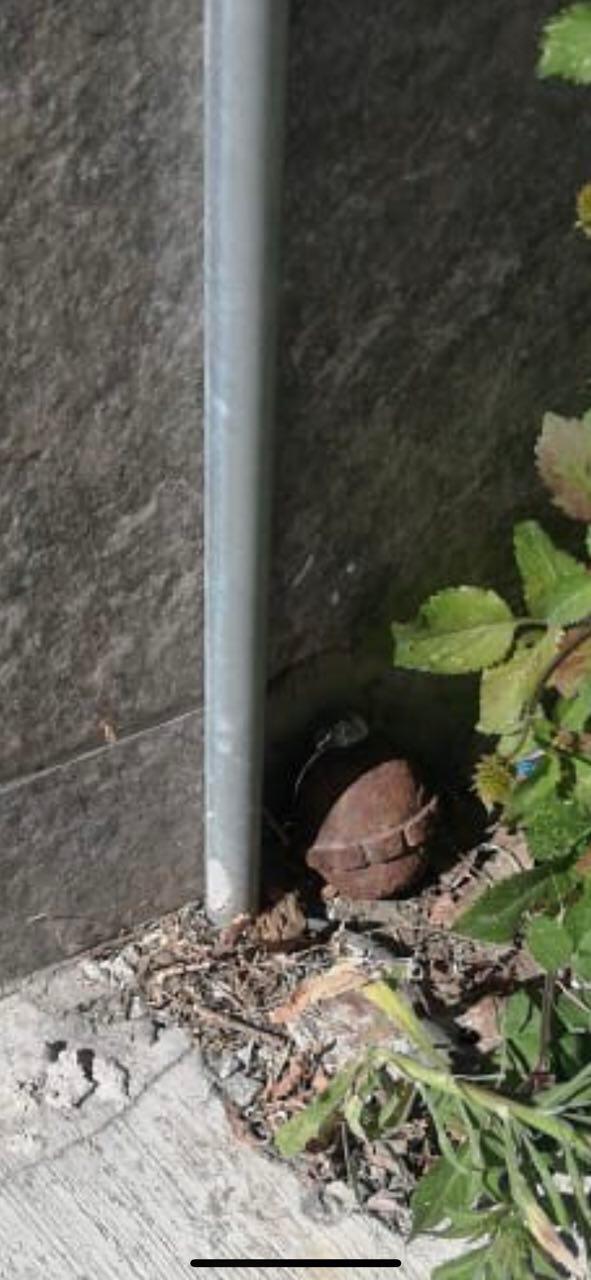 granada causa movilización en Mineral de la Reforma