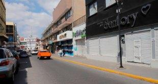 Y… los negocios no esenciales del centro de Pachuca no reabrieron