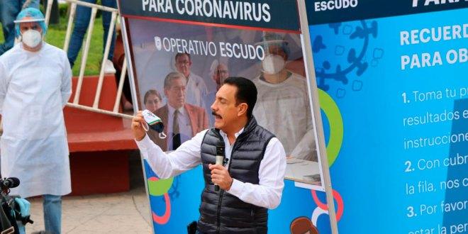 módulos pruebas rápidas gratuitas Covid-19 Hidalgo