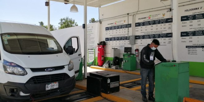 Normal, la verificación vehicular en Hidalgo: Semarnath