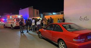 Motociclista lesionado accidente Paseos de Chavarría