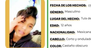 Activan Alerta Amber para localizar a Andrés Martínez en Tula
