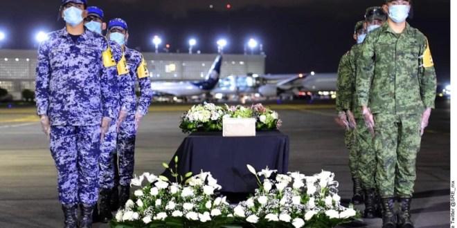 Arriban desde Estados Unidos cenizas de mexicanos fallecidos por Covid