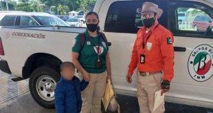 Rescatan a niño guatemalteco en Tula; había sido sustraído en su país