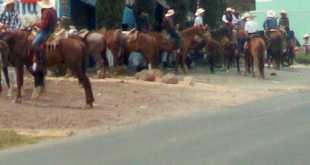 contingencia charlotada cabalgata Tulantepec