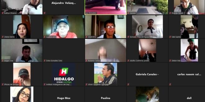 Realizó Alejandra Romero práctica en línea