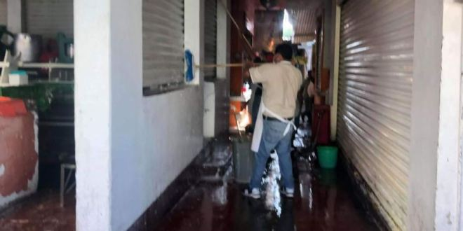 Desmienten supuesto caso de Covid-19 en mercado de Ixmiquilpan