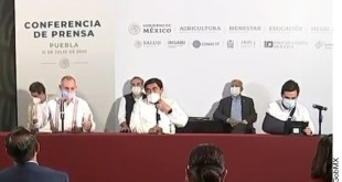 Reportan 8,458 casos de Covid-19, nuevo máximo para un día en México